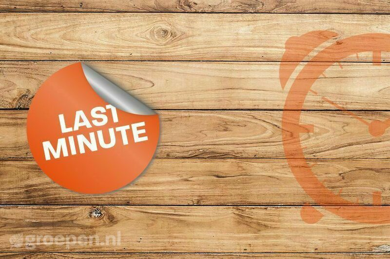 Last-minute korting