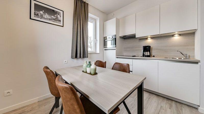 4p New holiday residence with sofe bed and double bed in Jabbeke Belgium