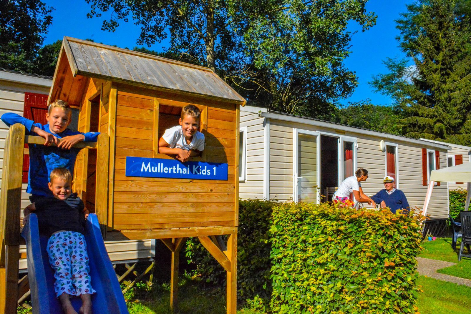Mobilhome Mullerthal kids