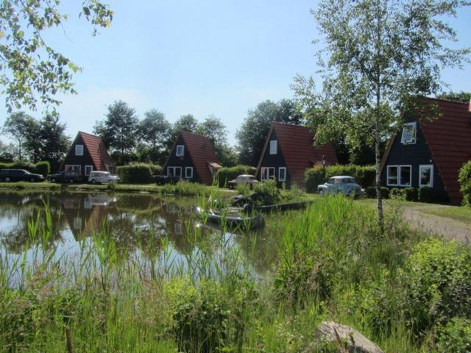 Silo mit 5 Fischerhäusern