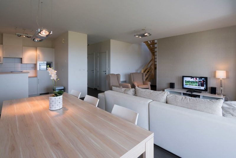 6-8p Villa with a frontal sea view along the sea in Hardelot Equihen