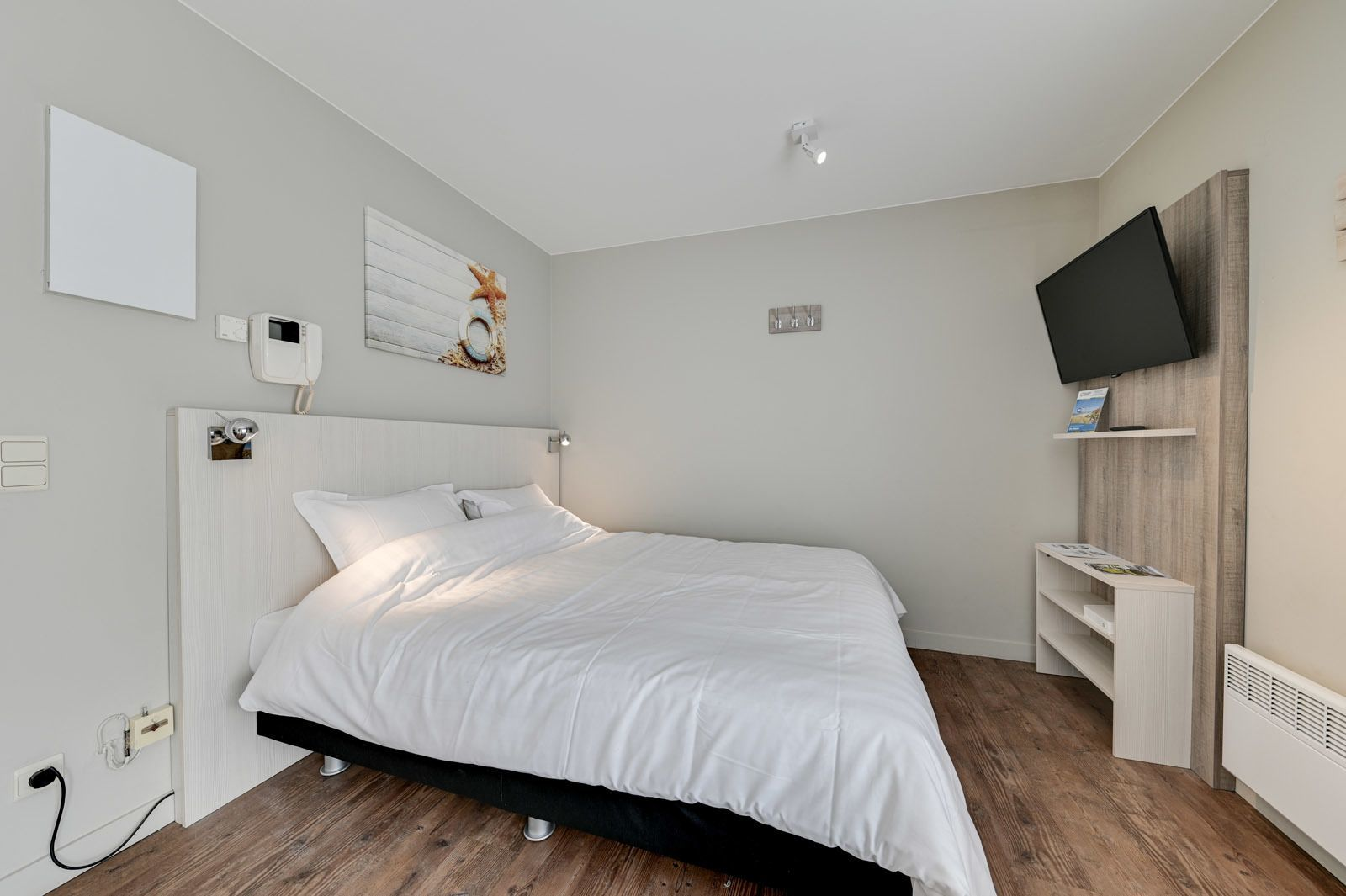 Studio voor 2 personen met tweepersoonsbed