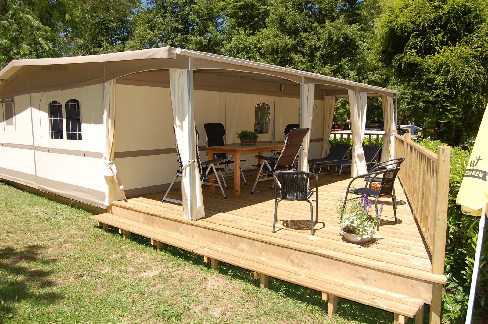 Glamping tent Cahors