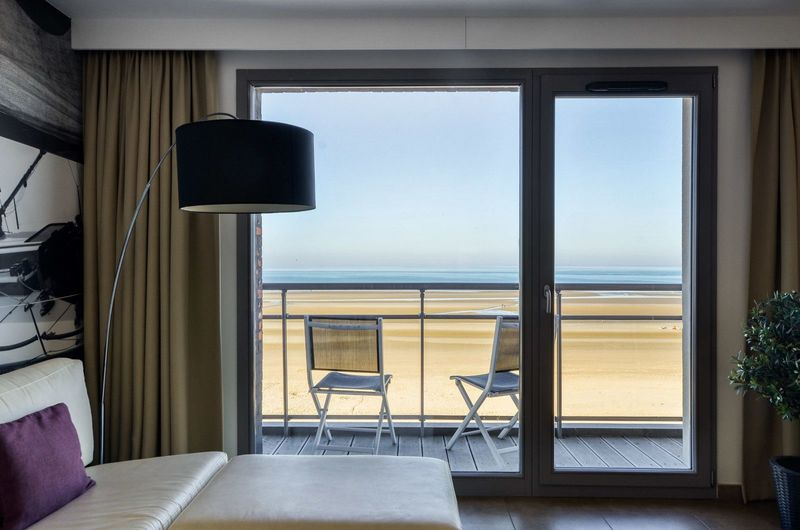 4p Holiday residence with frontal sea view in Bray Dunes Etoile de Mer