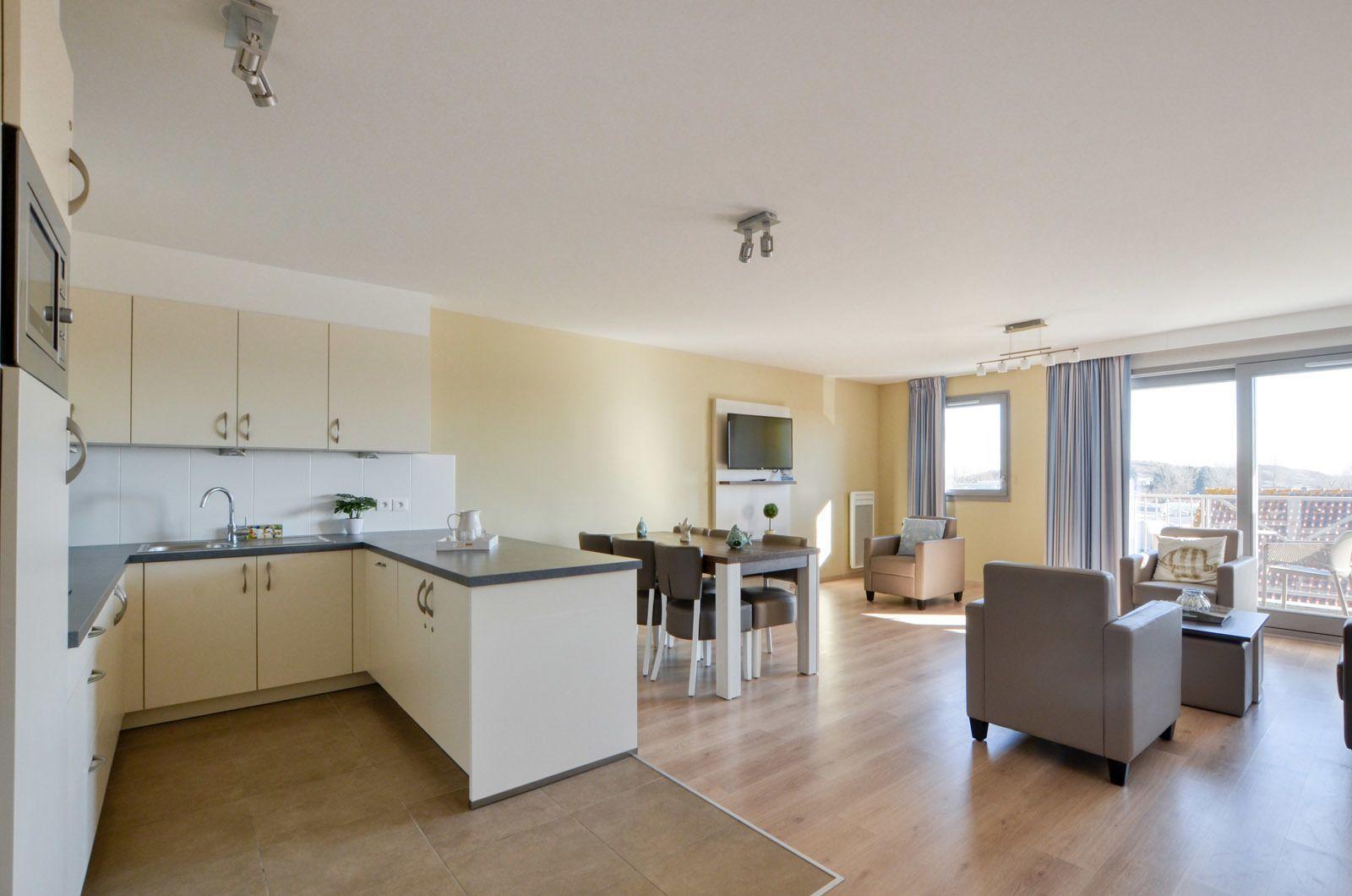 Appartement pour 6 personnes (4 adultes - 2 enfants) avec terrasse