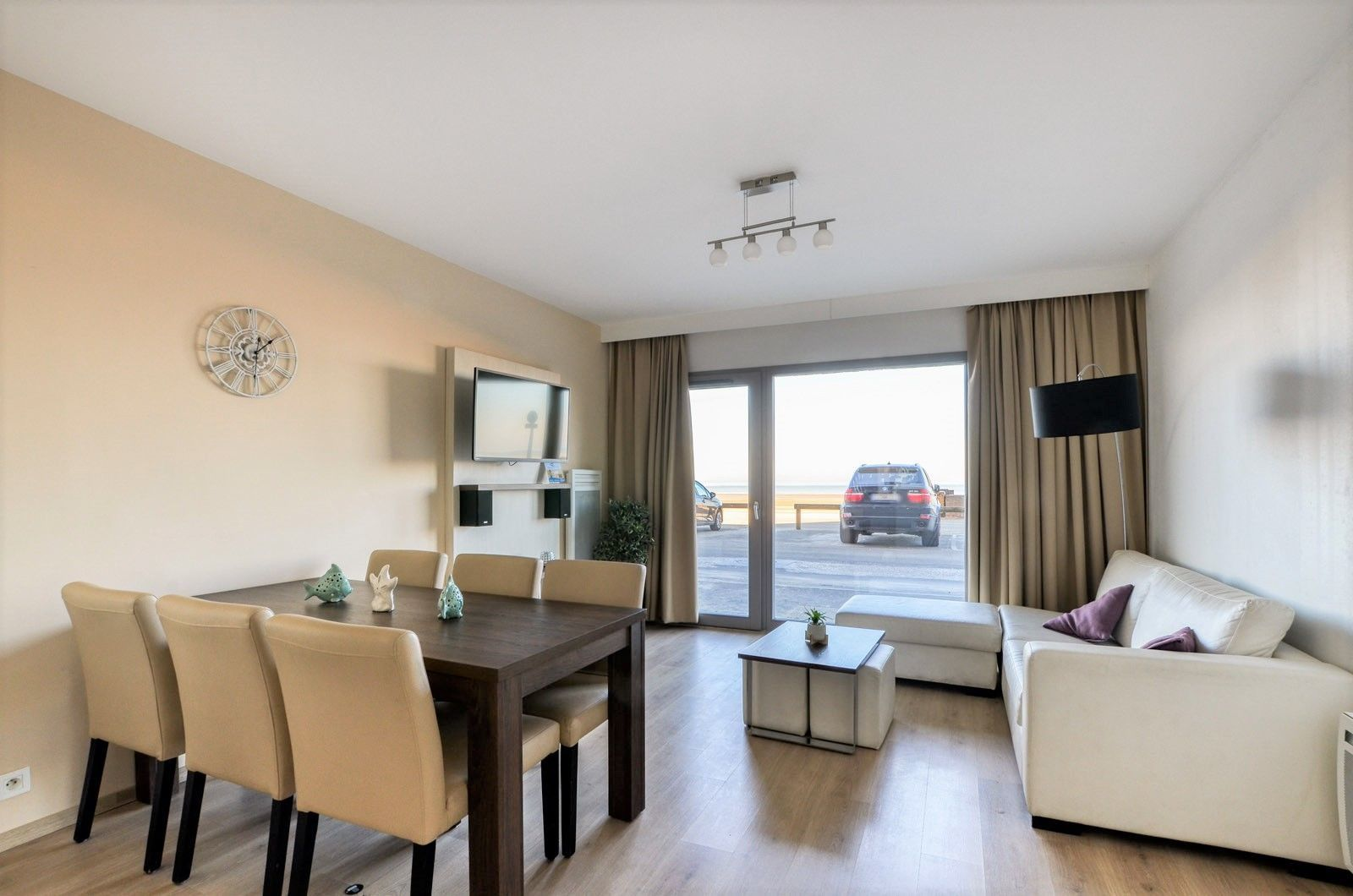 Holiday Suite for 6 people on the ground level with sea view