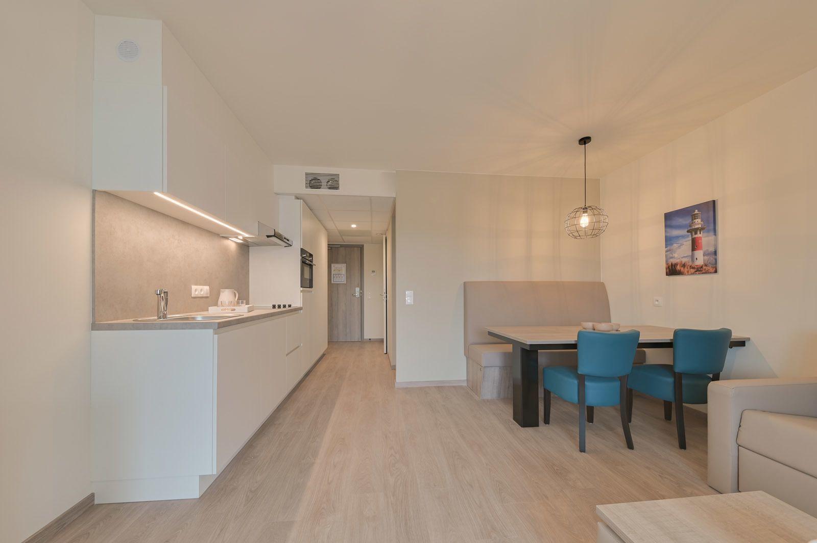 Nouveau logement de vacances pour 2 adultes et 3 enfants avec canapé-lit