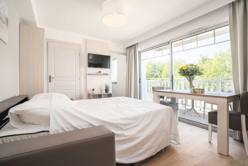 4p Basic vakantiestudio met slaapbank en balkon La Brise des Dunes