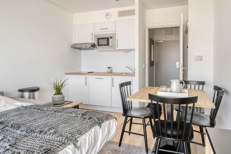 4p Standaard studio met 1 slaapkamer in Boulogne-Sur-Mer