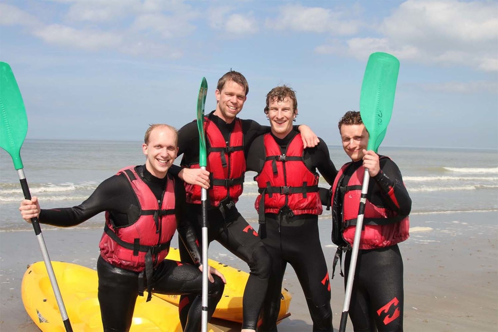 Watersports Package Deal: kayak/canoe/sup Nieuwpoort