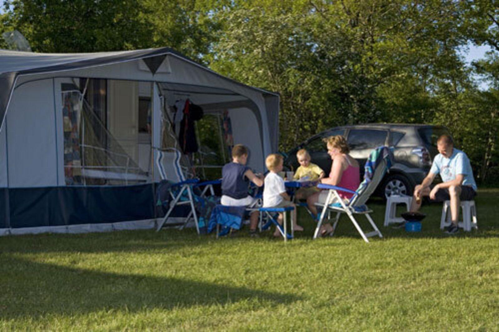 Voorseizoen kamperen