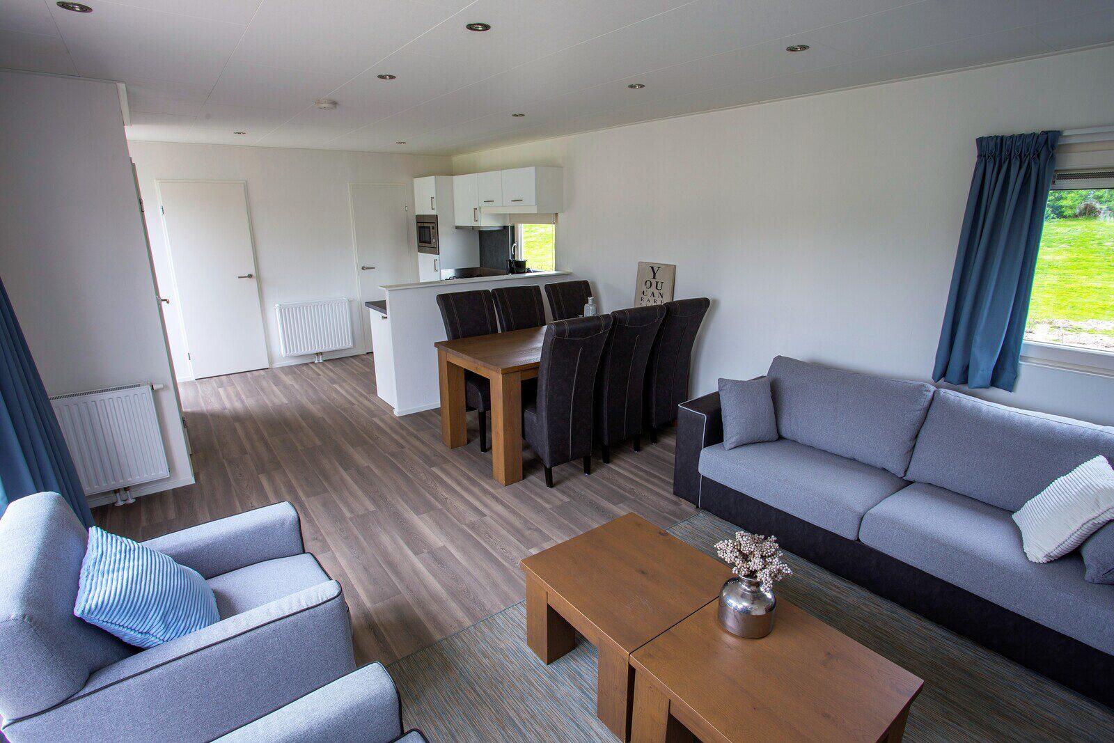 Unterkunft für 6 Personen (ohne Fernseher), 3 Schlafzimmer