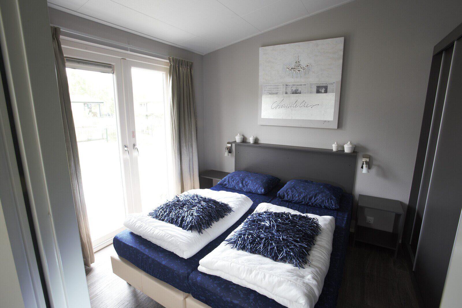 DeLuxe (zonder TV): 6-persoons, 3 slaapkamers