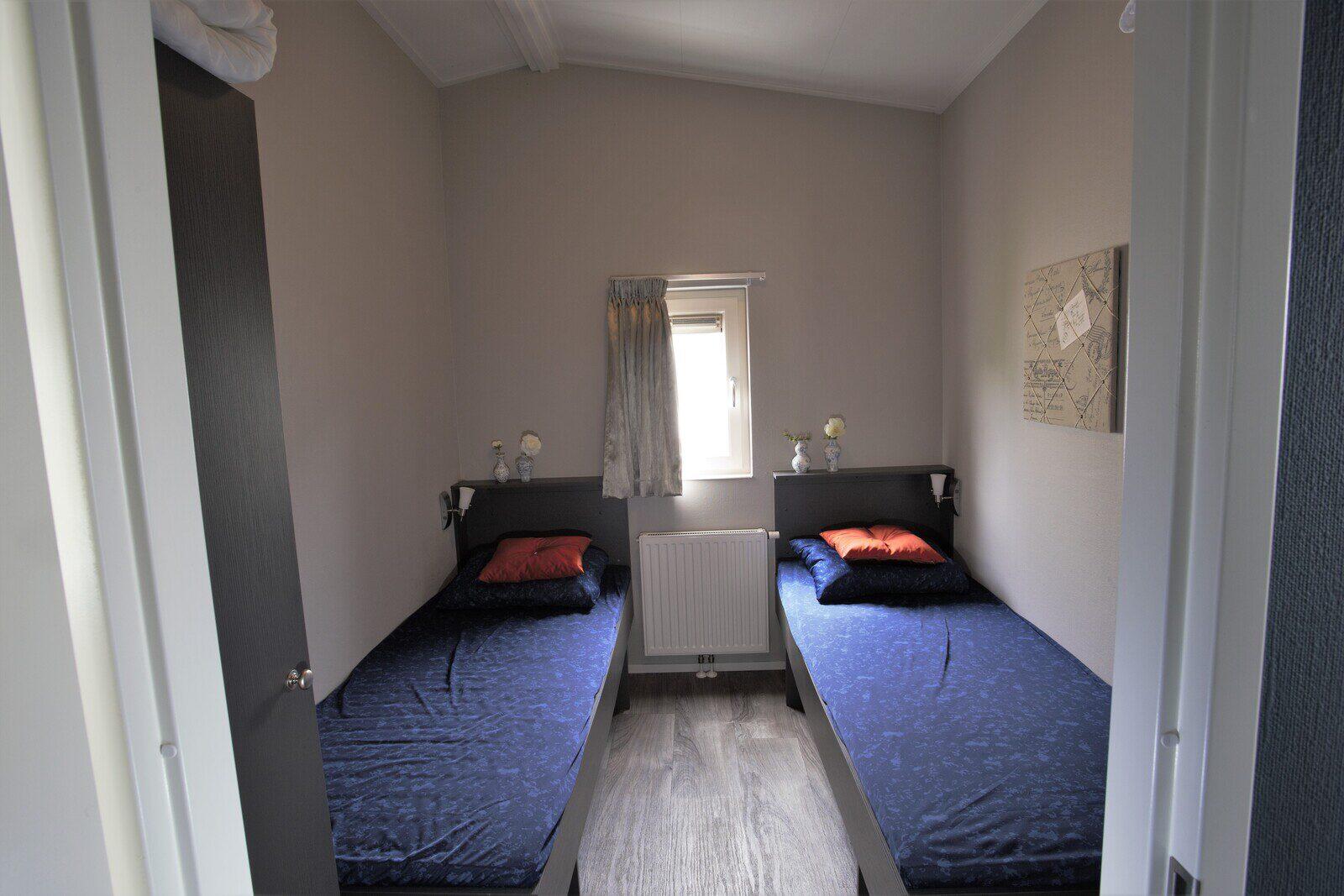 6-Personen Luxuschalet, drei Schlafzimmer.