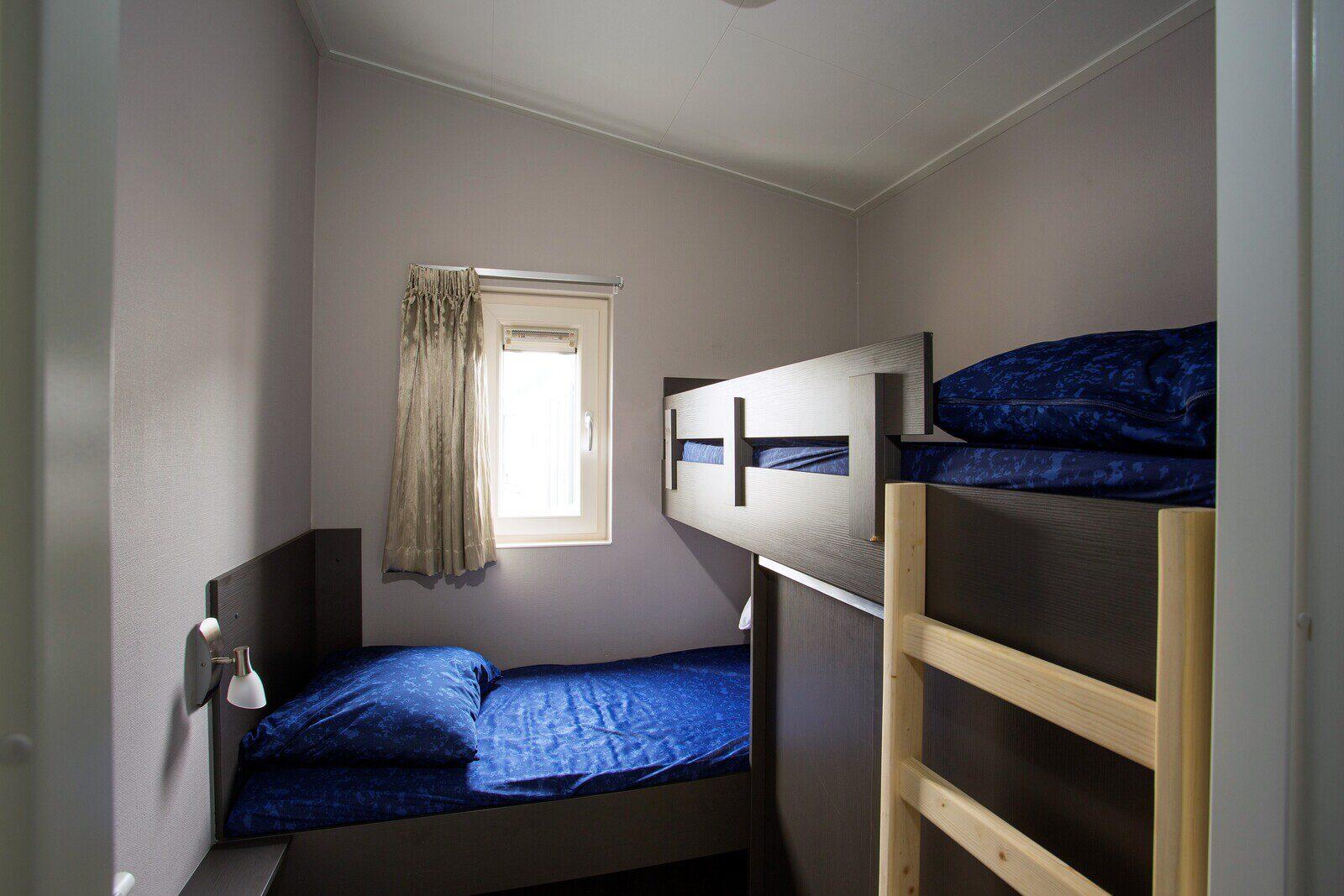 DeLuxe: 6-persoons, 3 slaapkamers