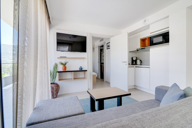 4p New premium suite with 2 double beds in Vence, Cote d'Azur