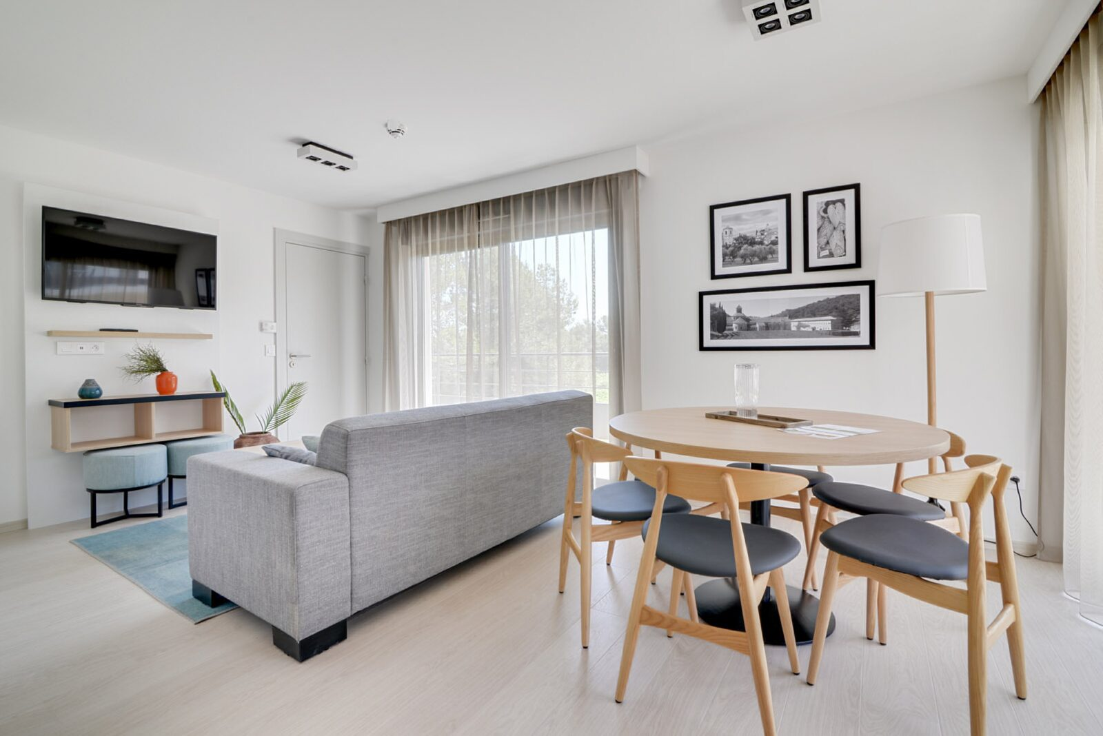 Penthouse famille pour 6 personnes avec 2 lits superposés