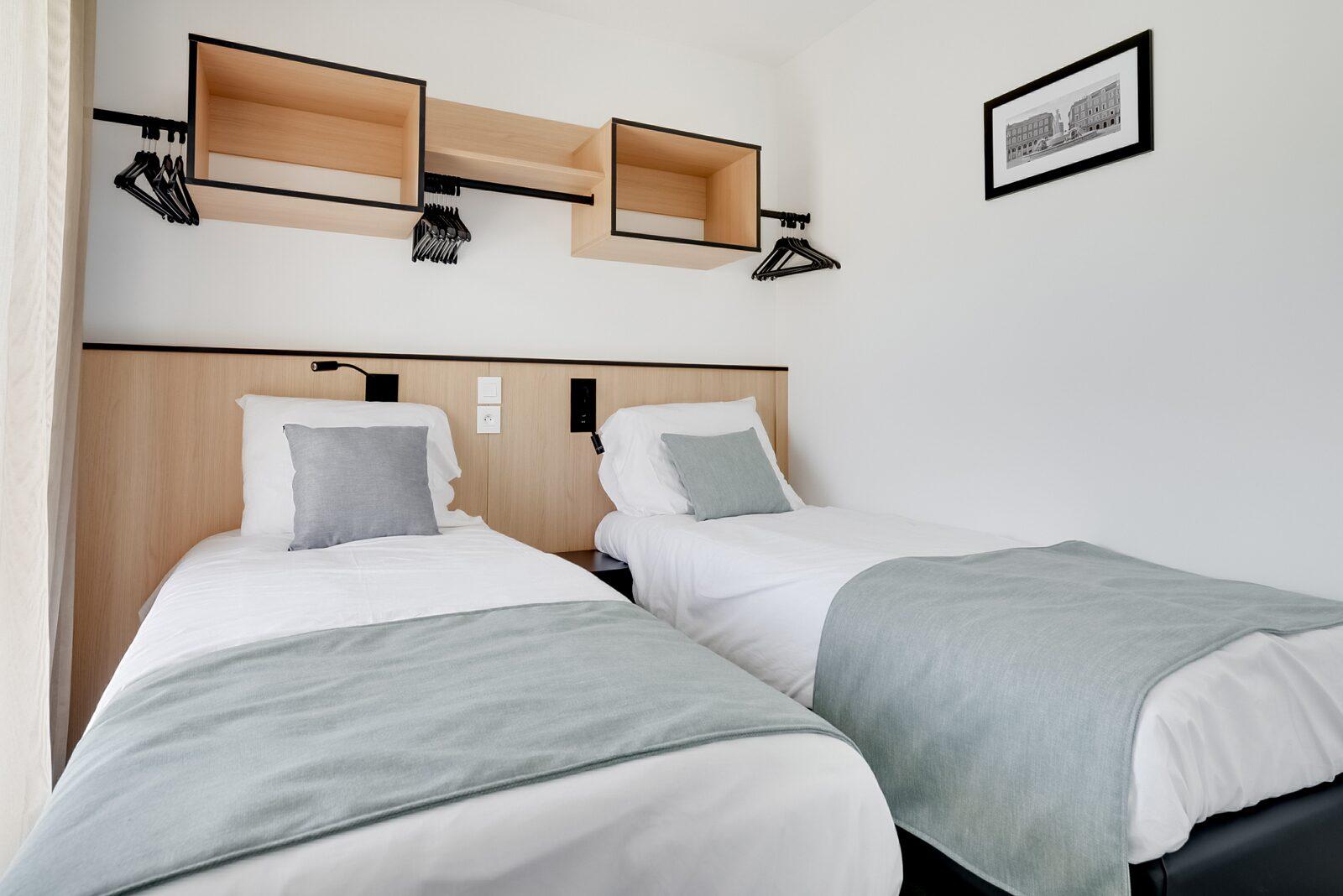 Nouveau penthouse deluxe pour 6 personnes avec 2 chambres