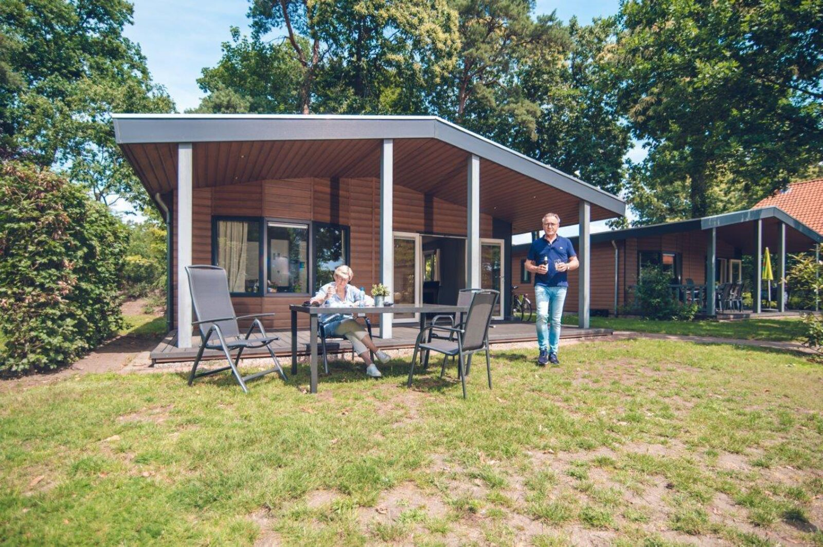 Patio Bungalow Chalet | 6 people