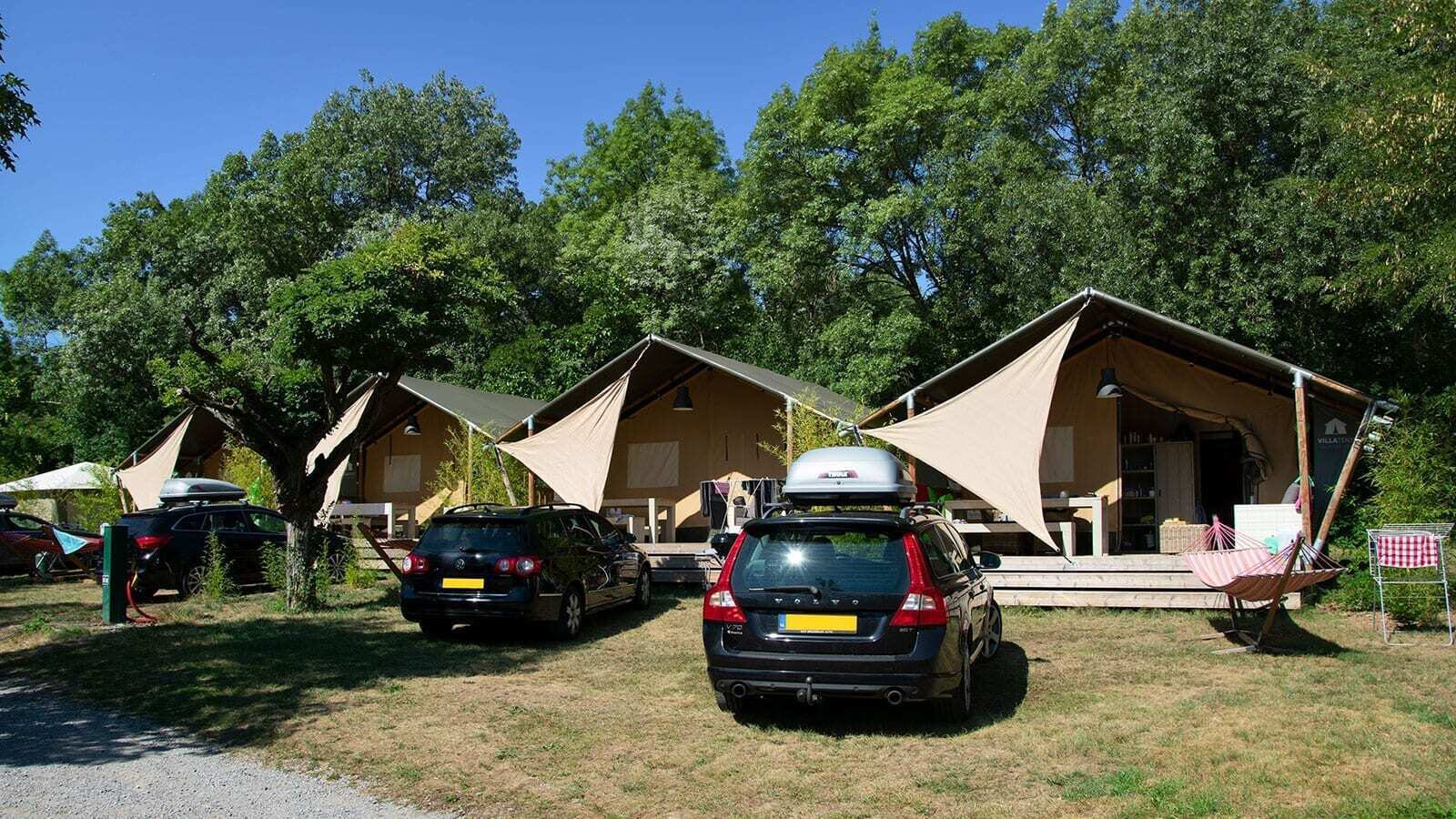 Campsite Ardèche | Luxe 5 Pers.