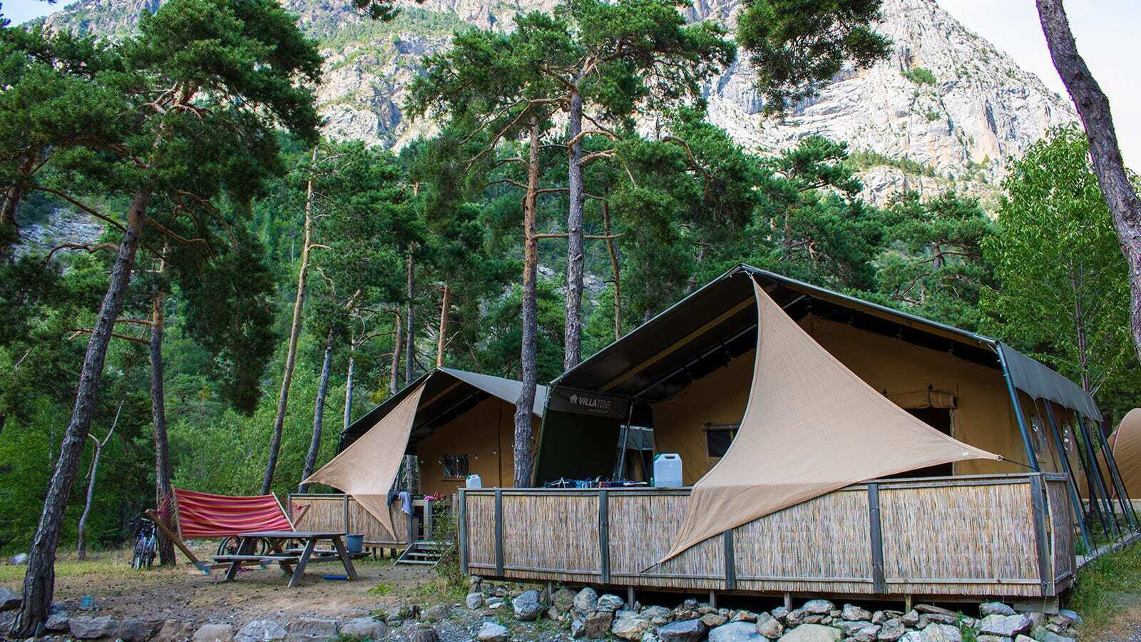 Campsite River | Luxe 5 Pers.