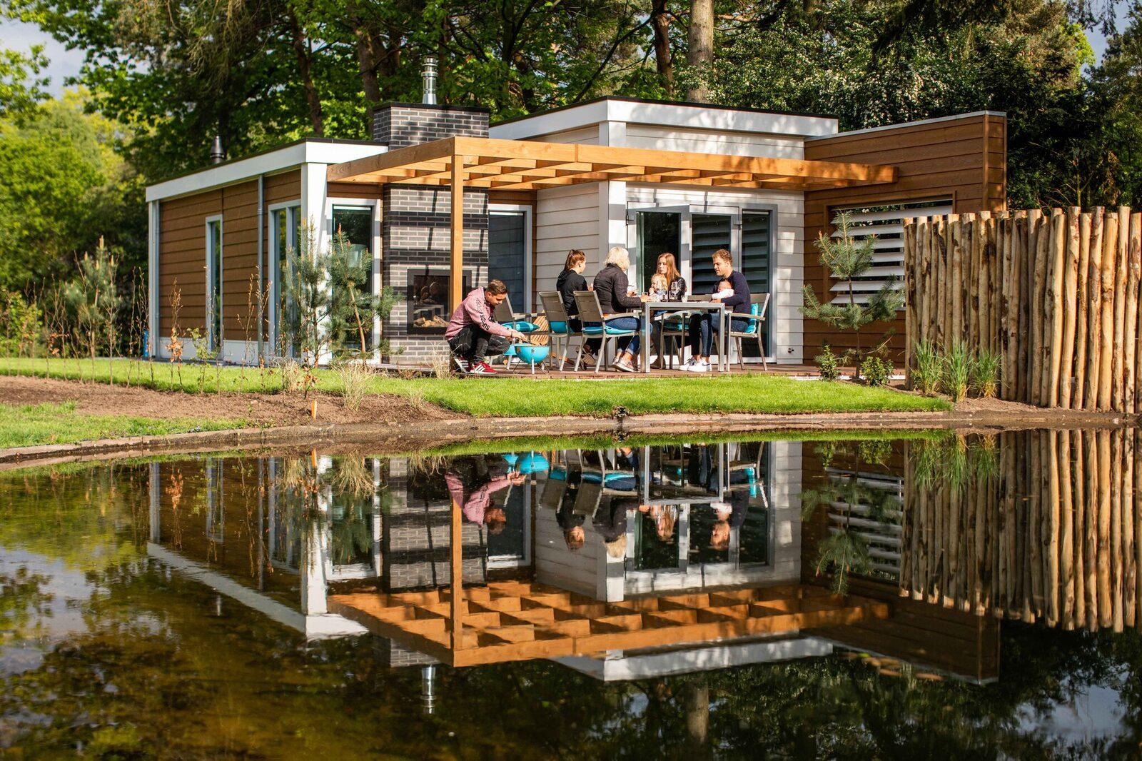 Grand luxe 4 personnes sauna