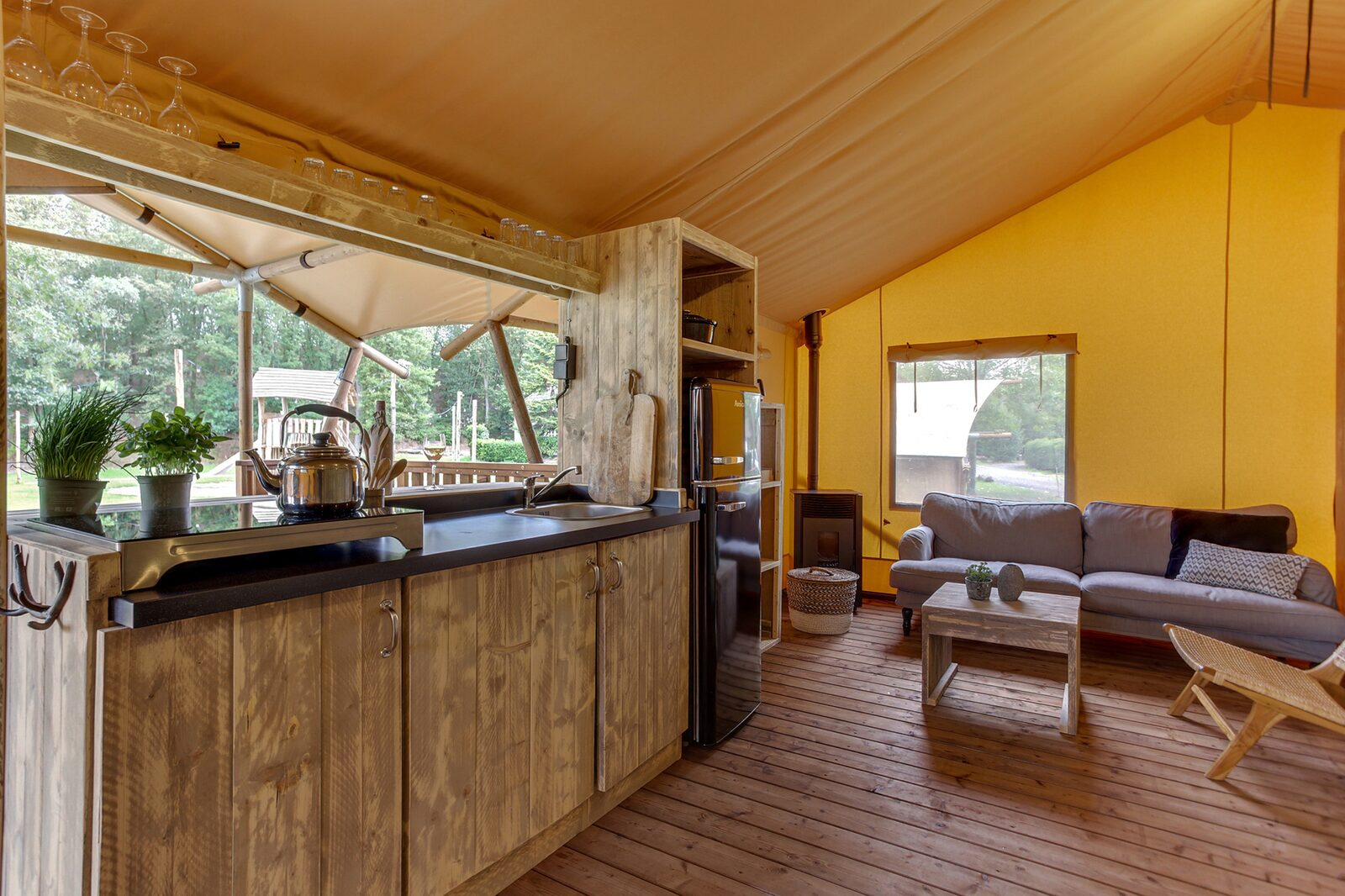Basic Dune Lodge for four persons
