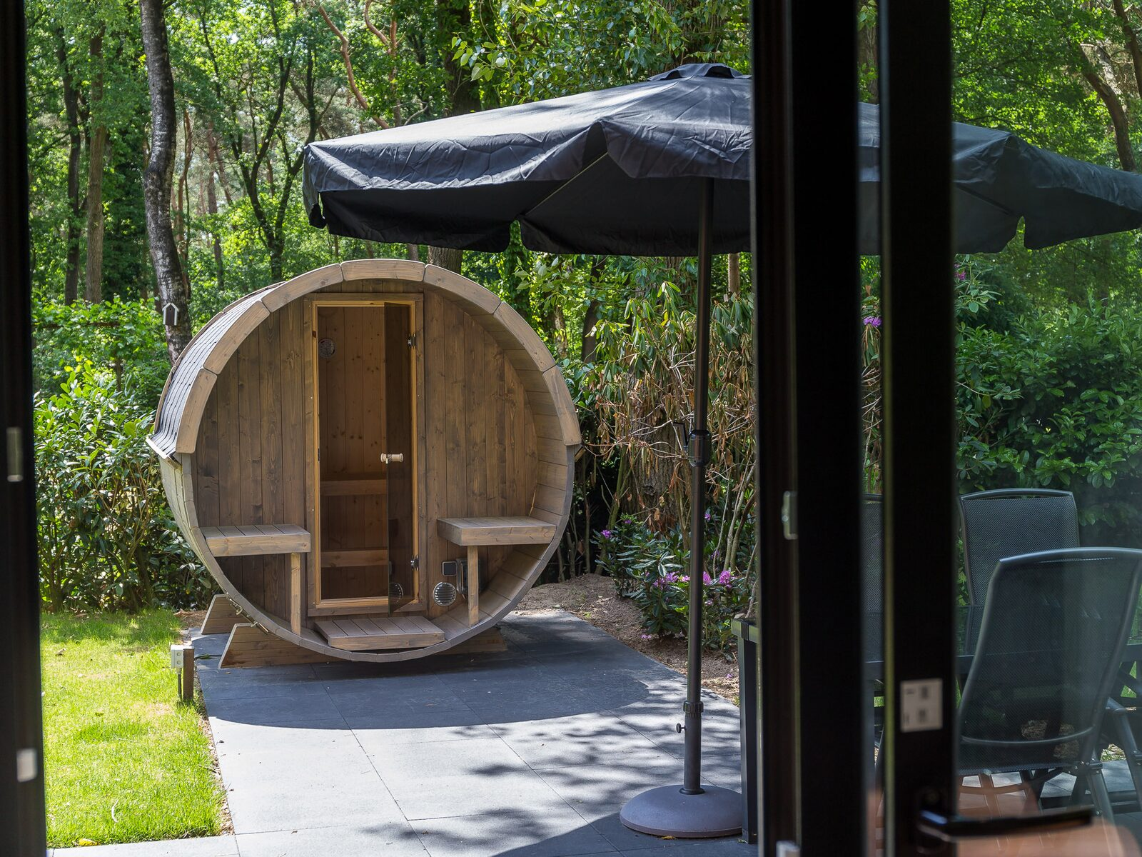 Bos Lodge 55 Eco 4 personen ( Wellness)