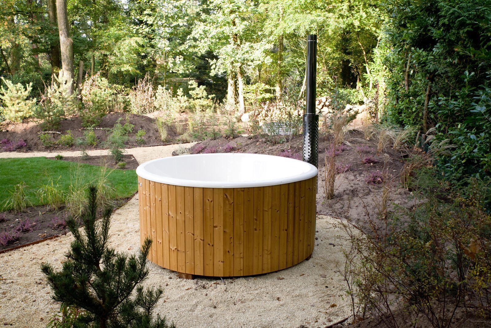Nutzung des Whirlpools Forest Lodge 55 4 Personen