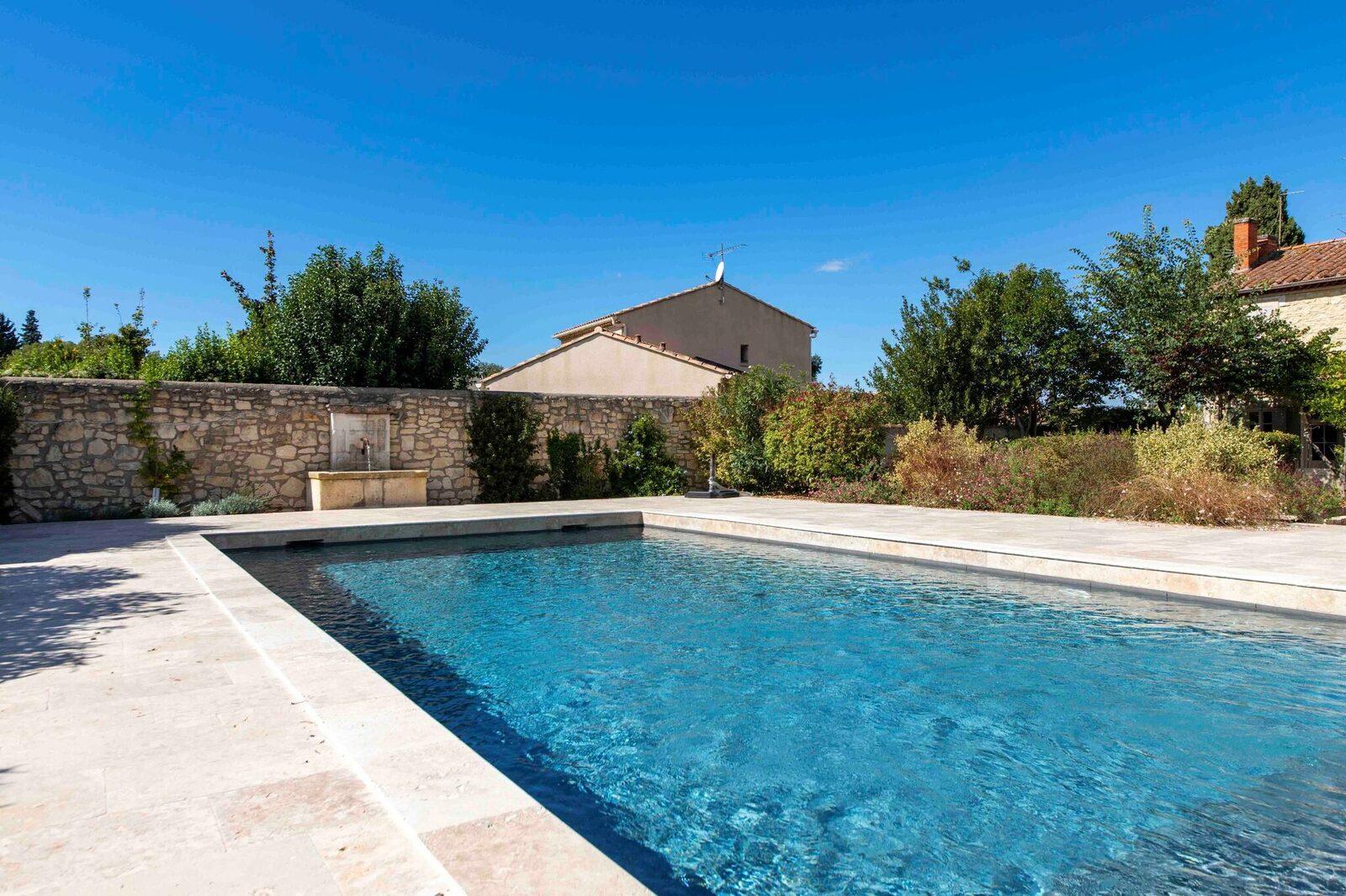 Landhuis Mas St Michel tussen St Remy de Provence , Arles en Avignon