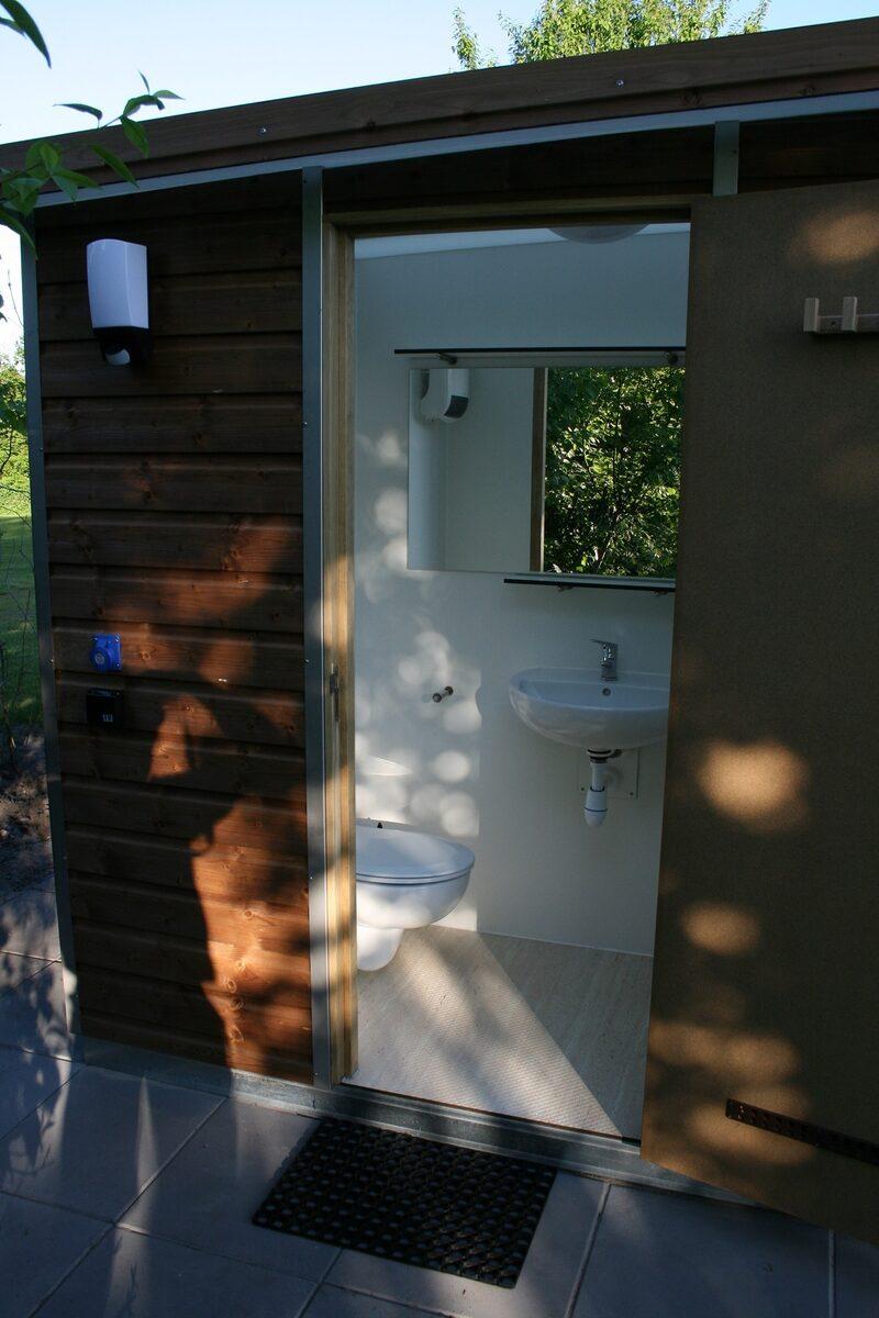 Comfortplaats XL privésanitair - Autovrij