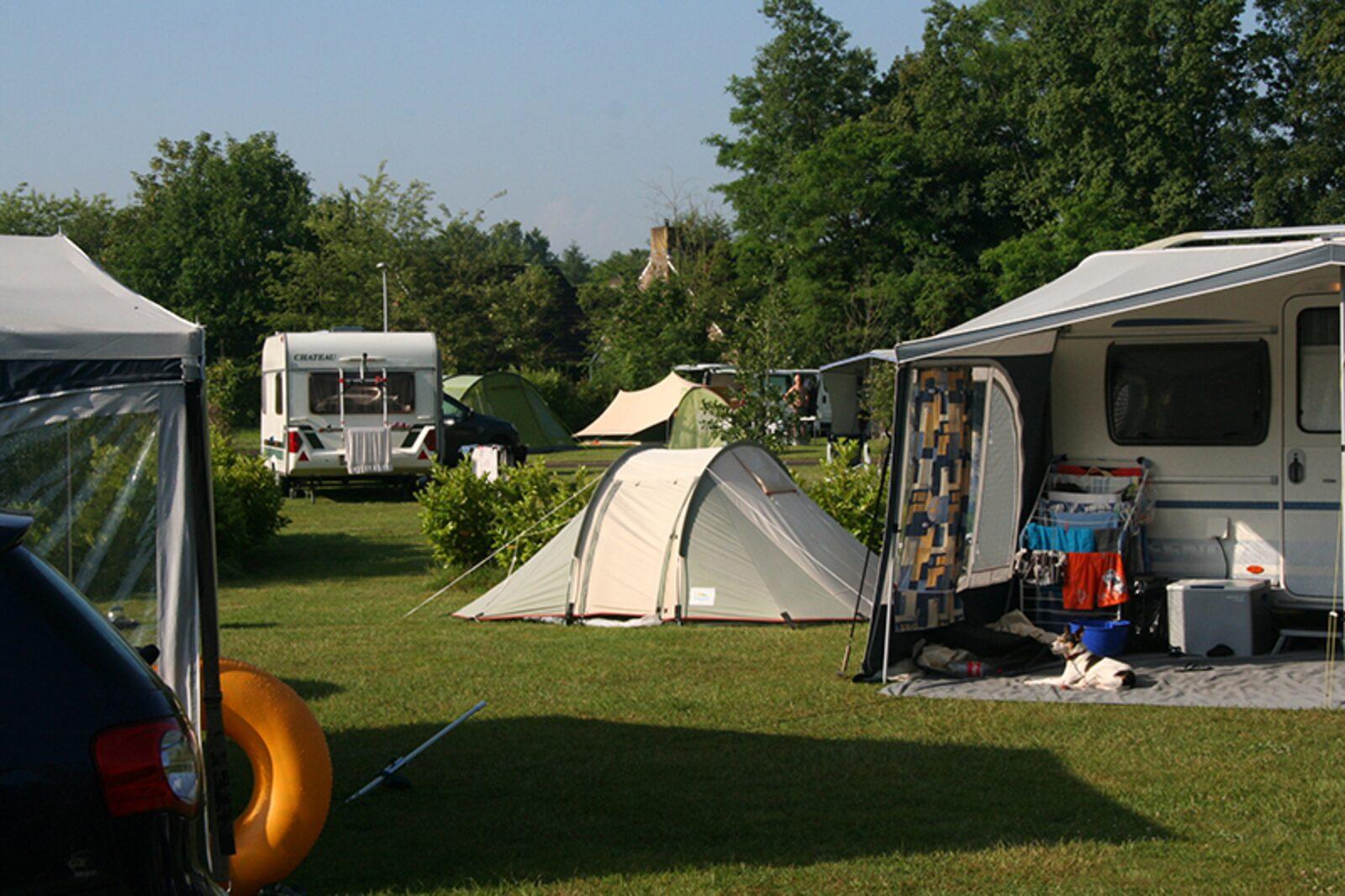 Comfort kampeerplaats