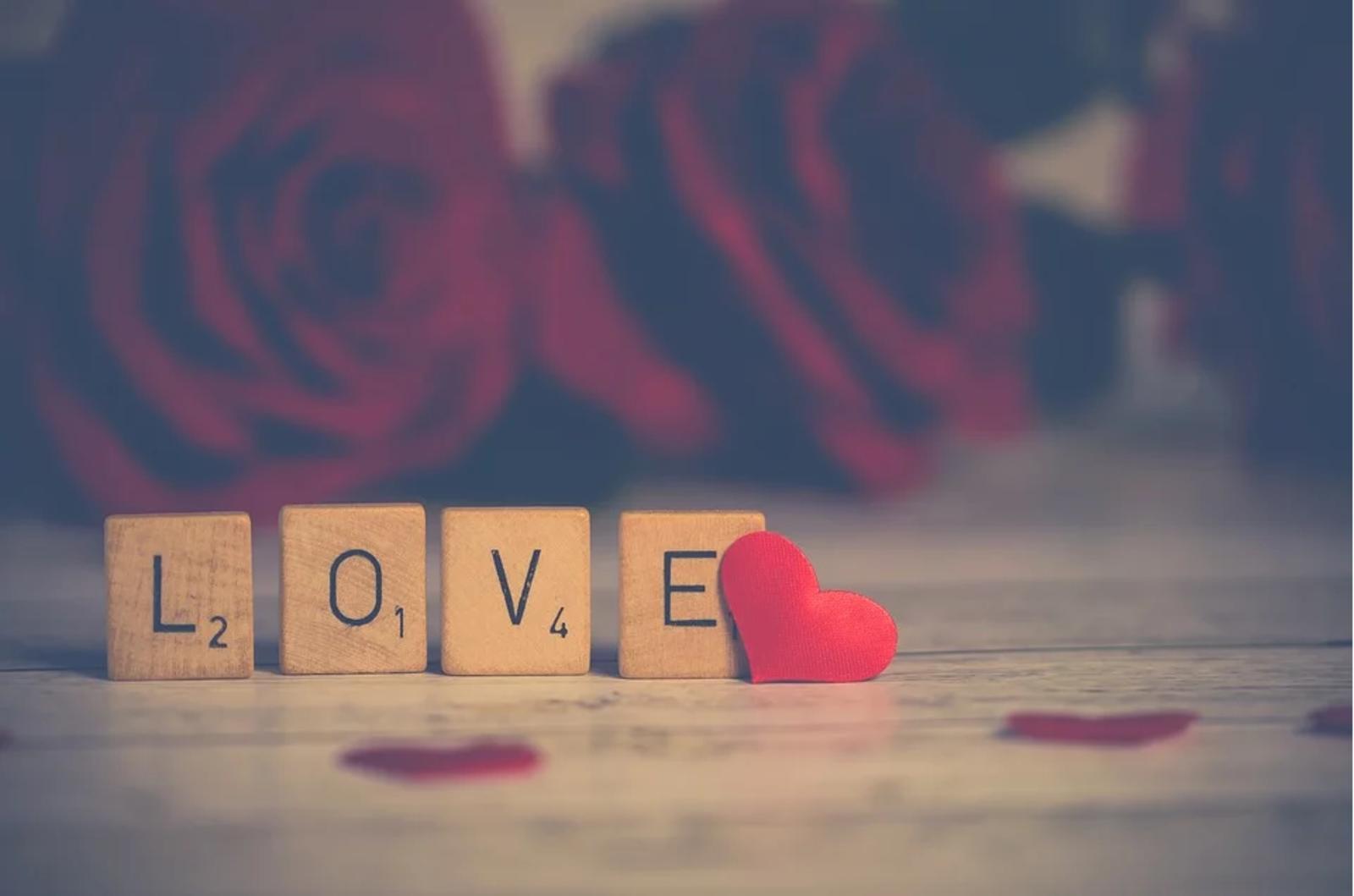 Paket am Valentinstag
