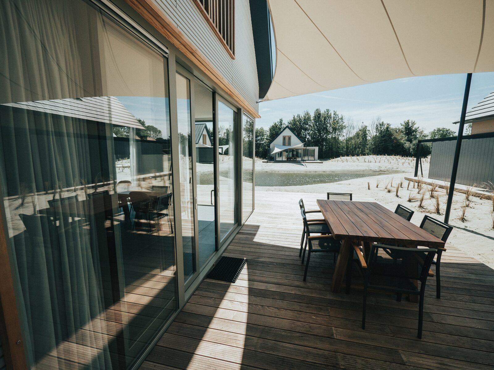 Vakantiehuis 6 persoons luxe