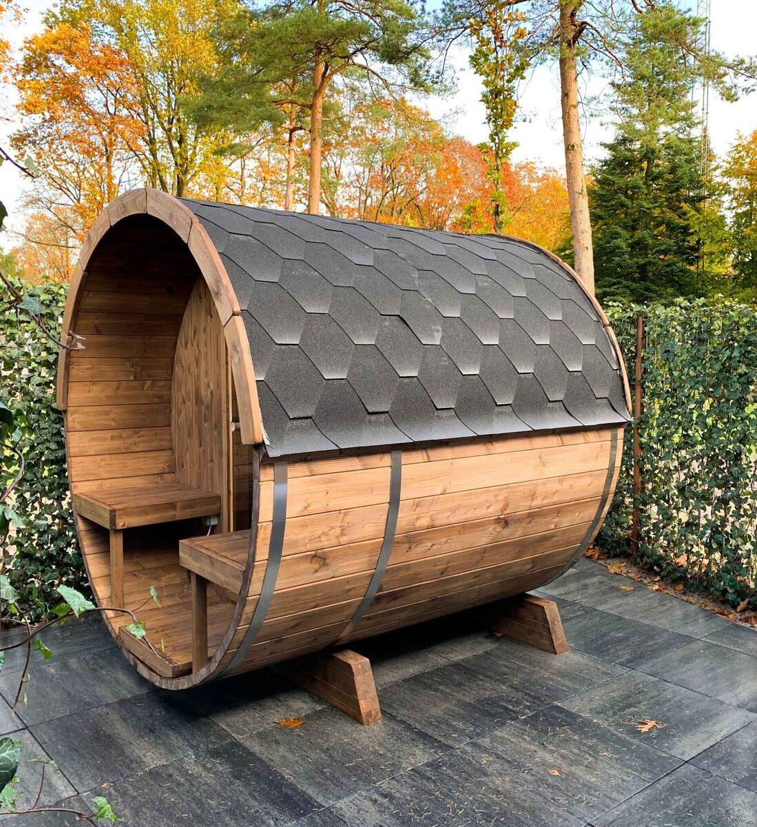 Confortable sauna pour 6 personnes