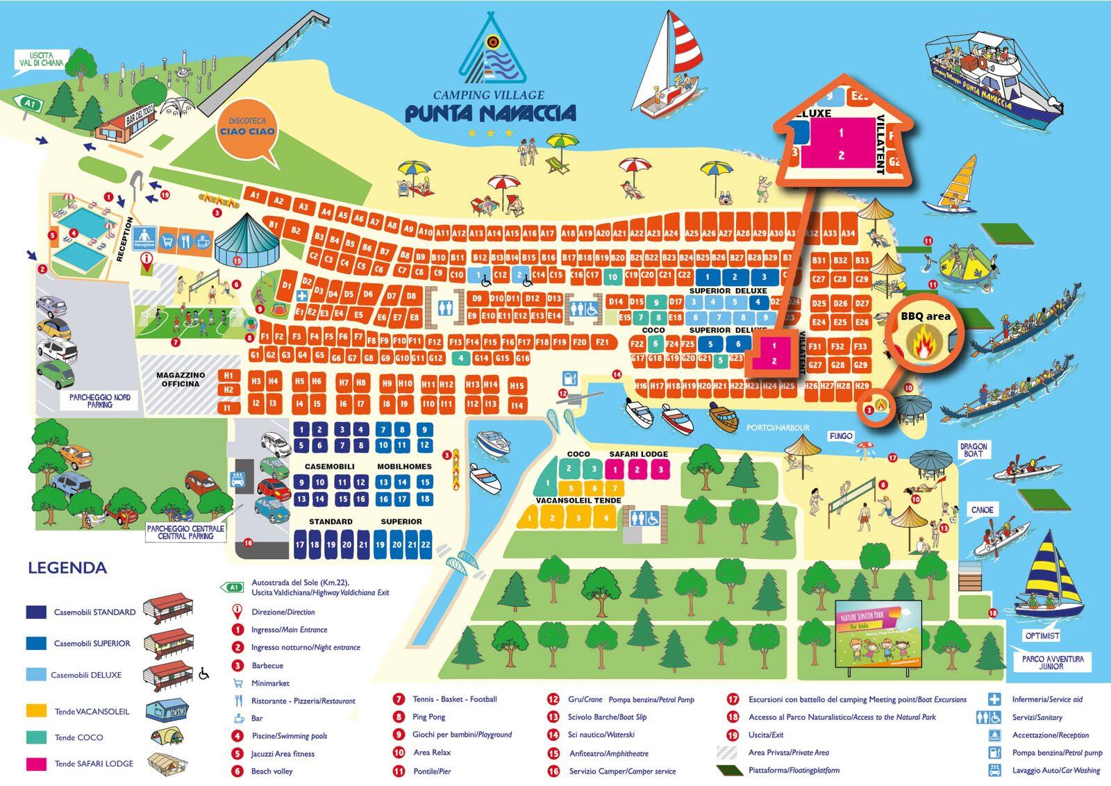 Punta Navaccia | Luxe Sanitair XL 6 Pers.