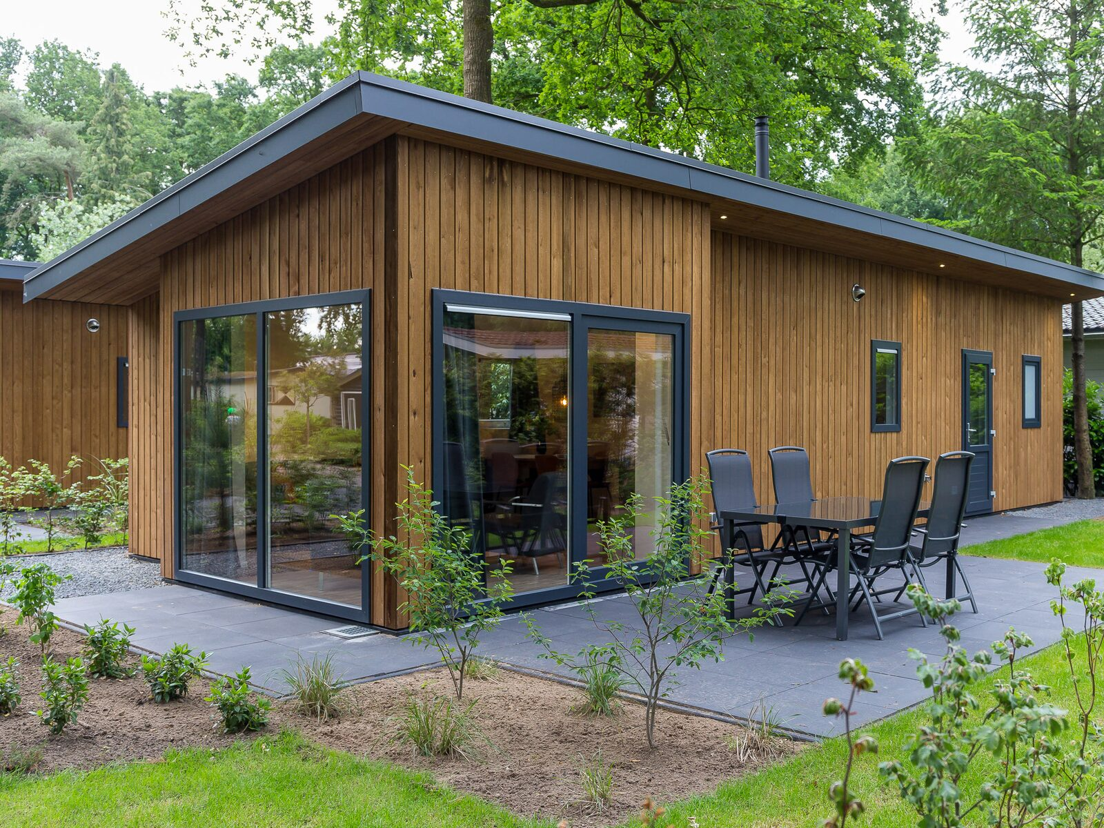 Wood Lodge Eco 4 personen ( Wellness )