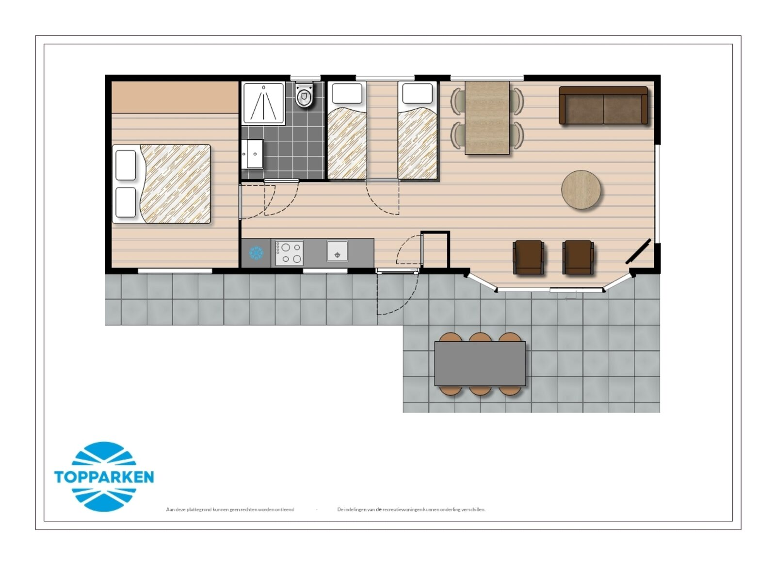 Mobile home 4 people