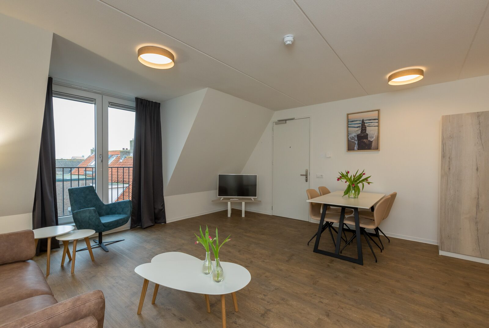 Luxury studio+ for 2 people | Zoutelande | Pet allowed