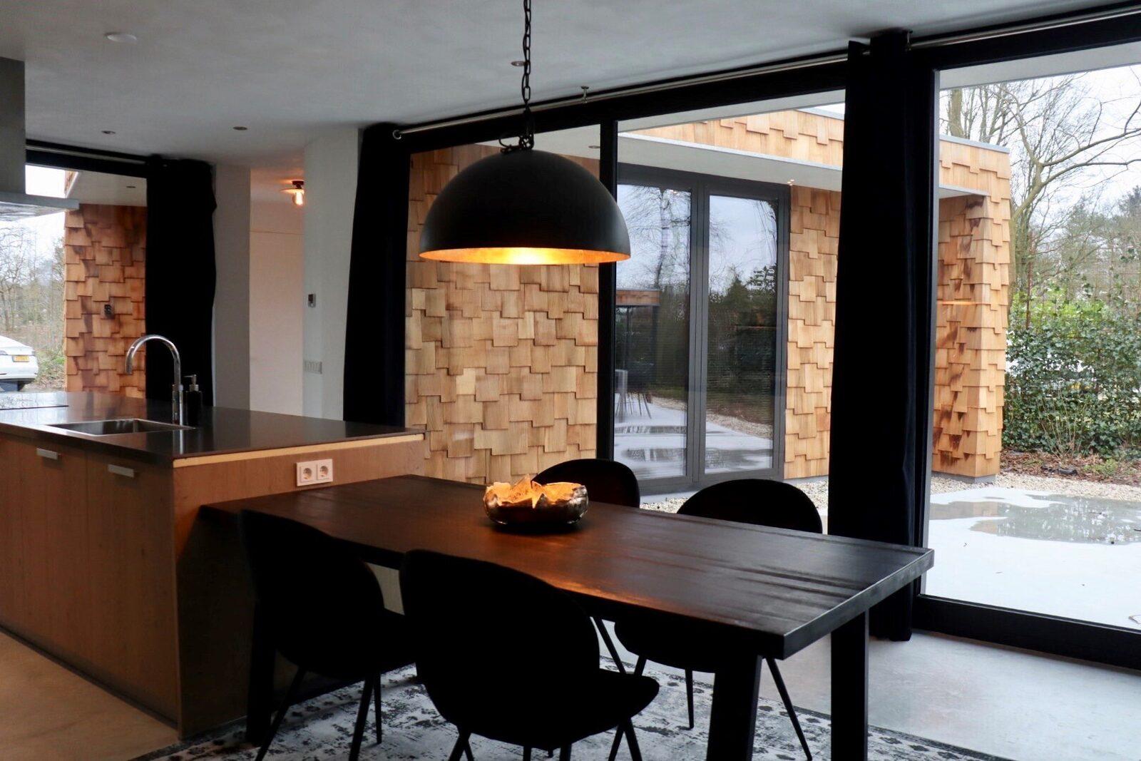 NIEUW: Houten Boshuis - luxe wellness vakantiehuis met hottub
