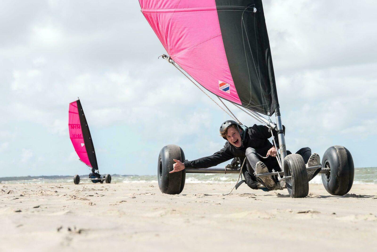Beach-sailing Session