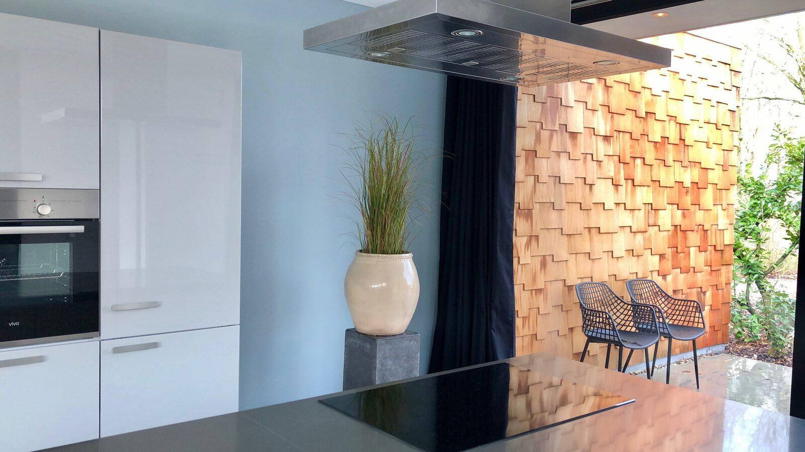 Houten Boshuis - luxe wellness vakantiehuis met hottub