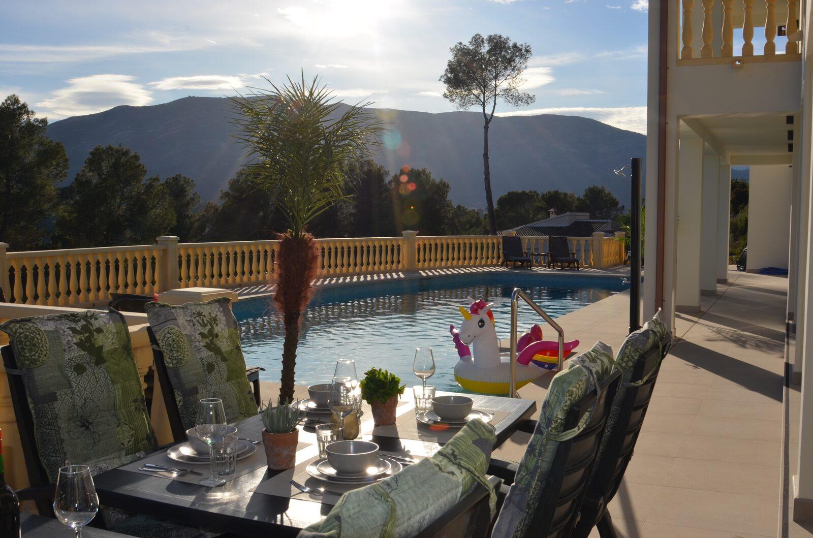 Villa Mimosa Alcalali | 12 personen