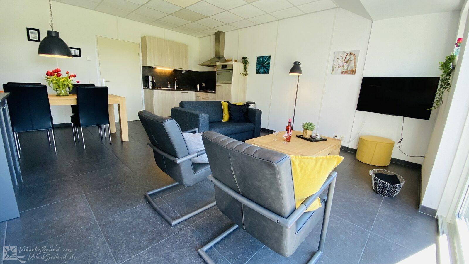 VZ179-Ferienunterkunft in Zoutelande