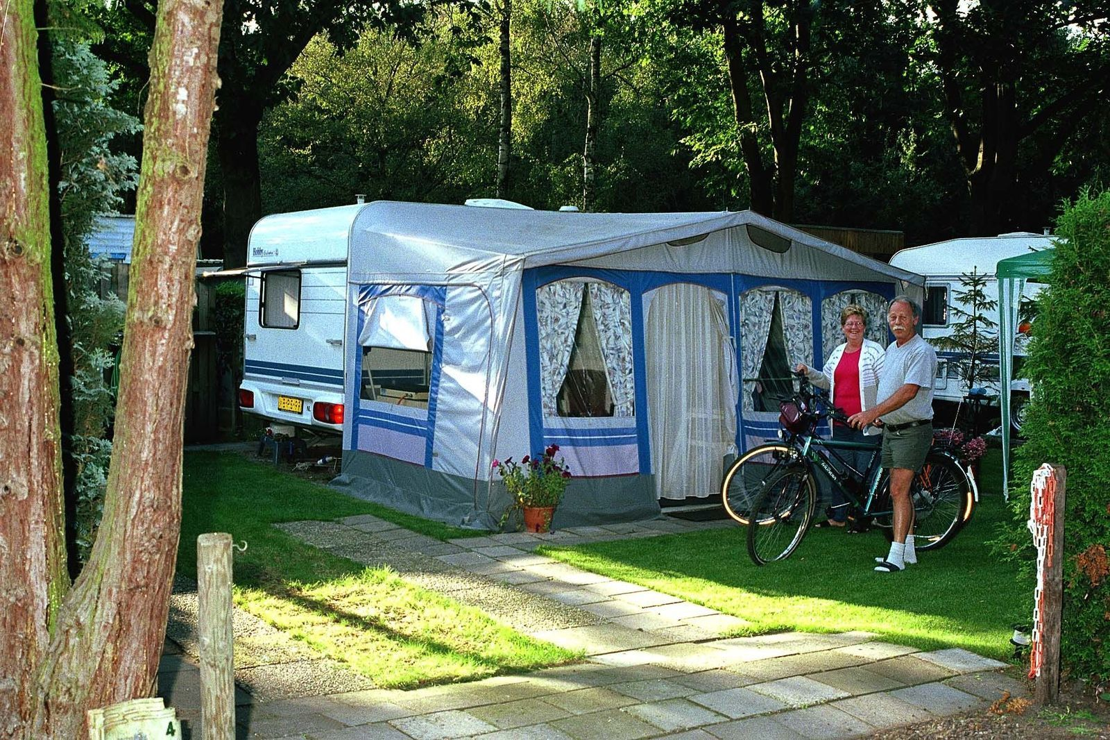Comfort Plus Camping Pitch