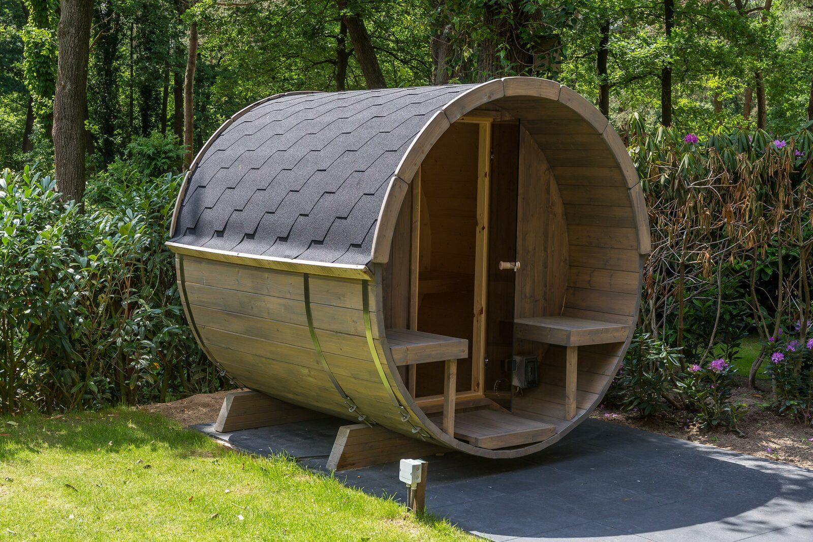 Gebruik sauna  Bos Lodge Eco