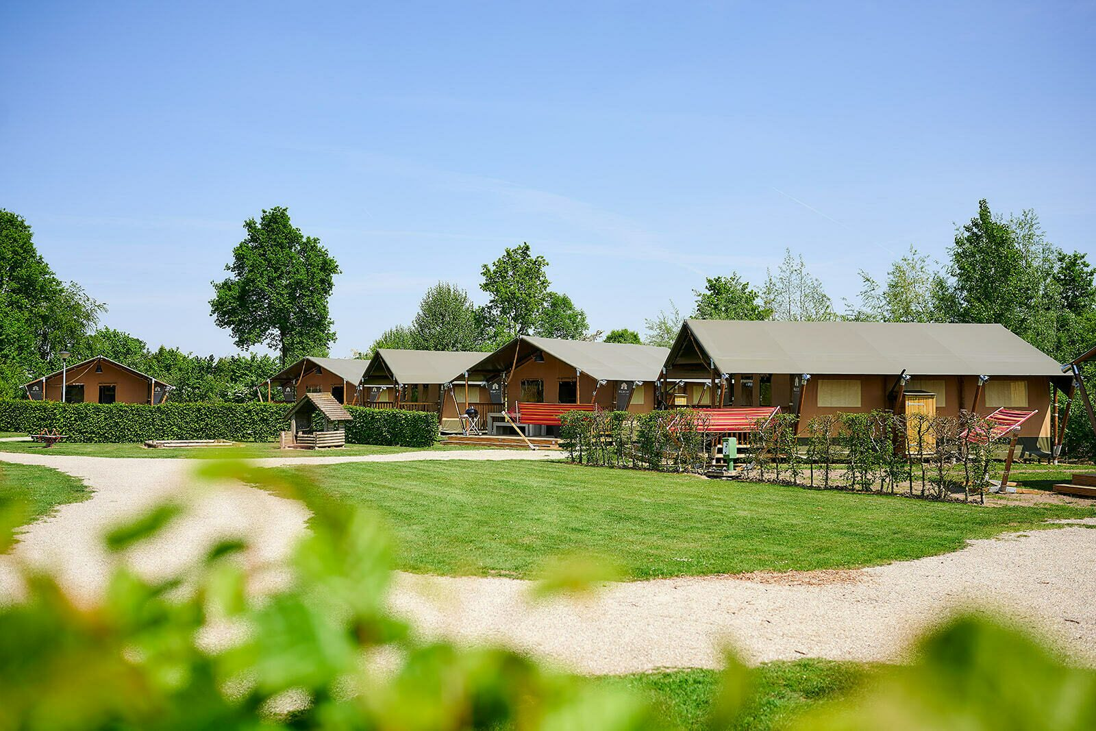 Camping Betuwestrand   Luxe Sanitair XL+ 6 Pers.