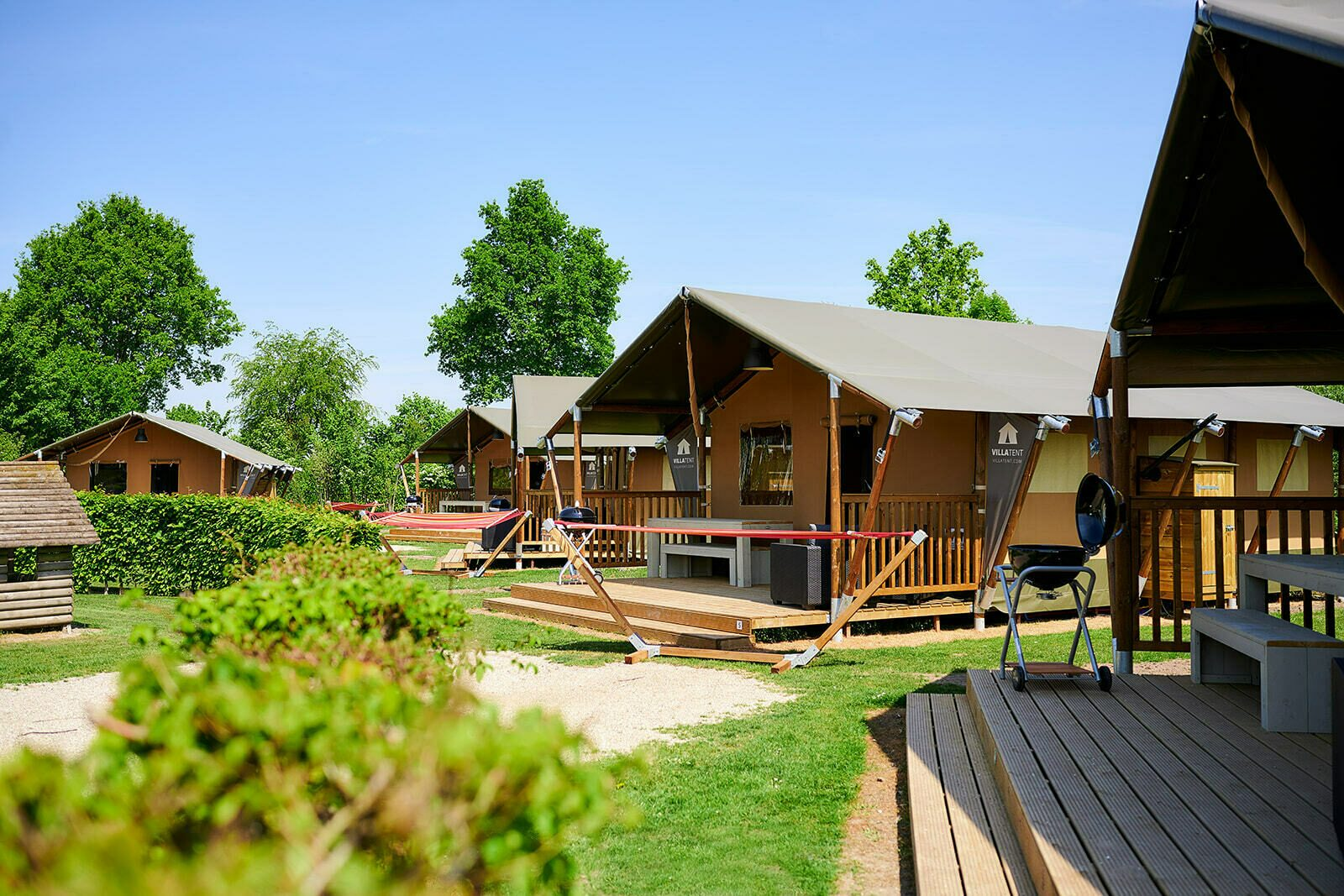 Camping Betuwestrand | Luxe Sanitair XL+ 6 Pers.