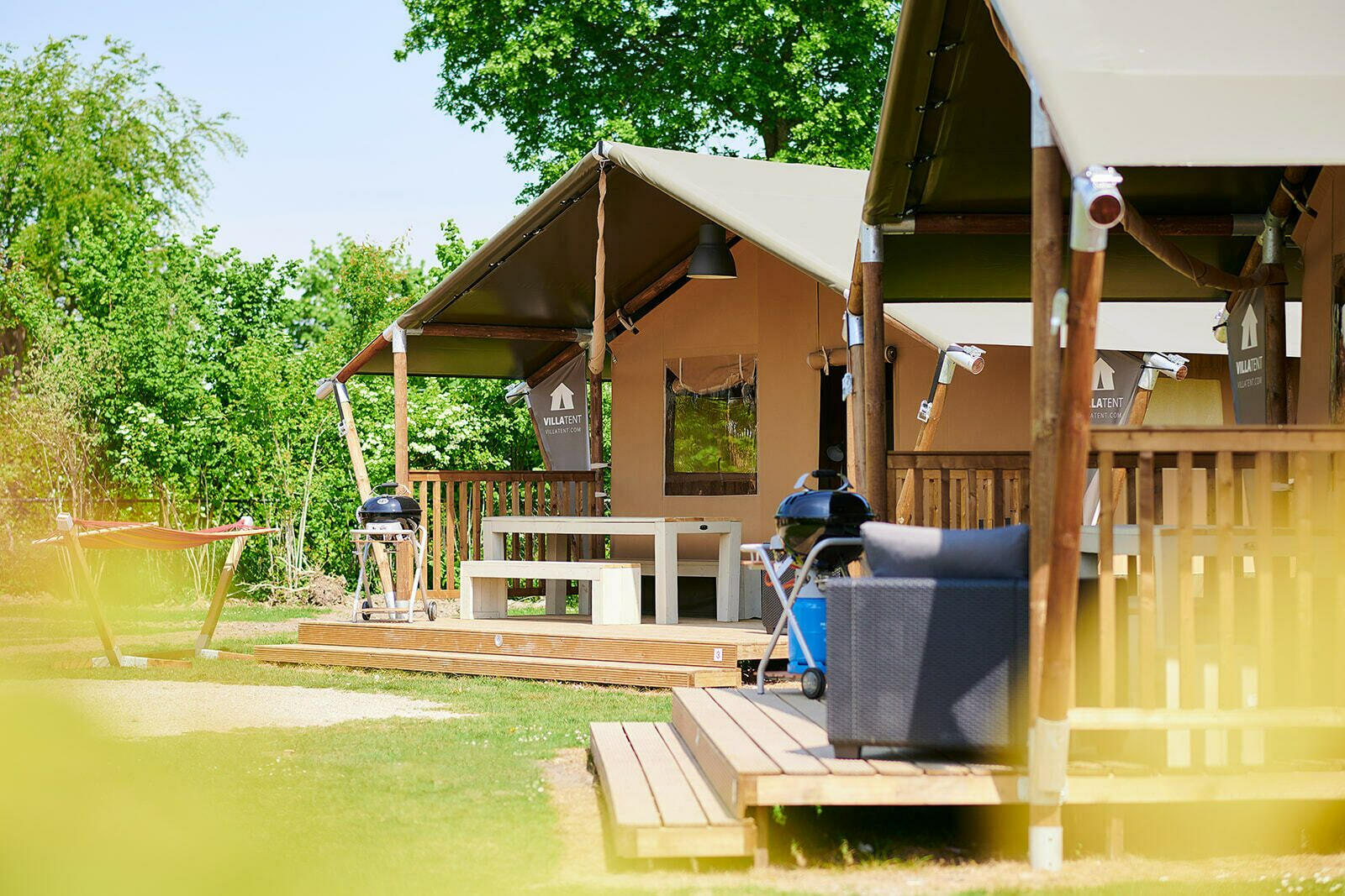 Camping Betuwestrand | Luxe Sanitair XL+ 6 Pers.