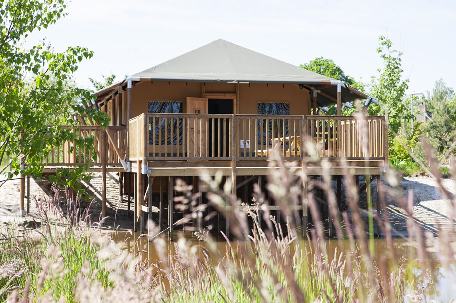Eight-person Safari cottage